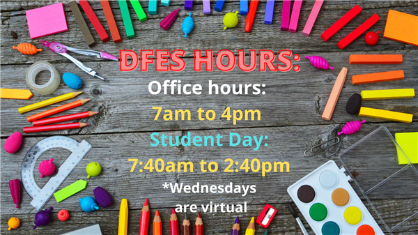 DFES School Hours