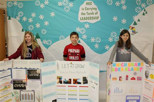 HEC Science Fair Winners