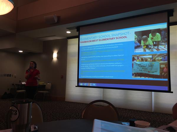 HWES Featured at SC Special Olympics Summer Workshop