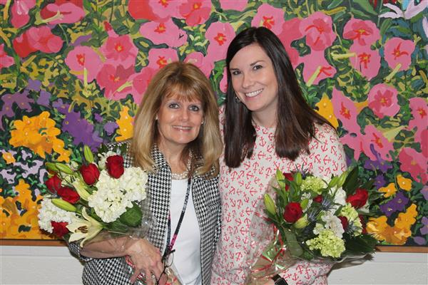 Congratulations to Tammy Watts, Support Person of the Year and Ashley Yelman, Teacher of the Year