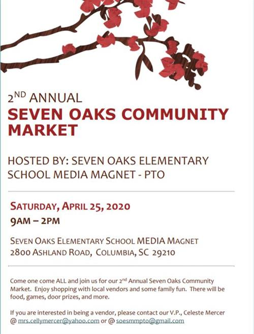 2nd Annual Seven Oaks Community Market