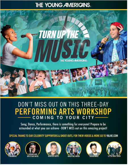 Young Americans Workshop and Performance