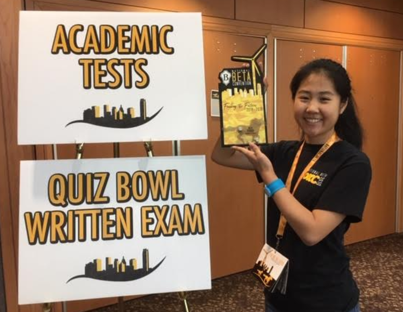 Carolyn Chen Places 3rd in Nation in Math