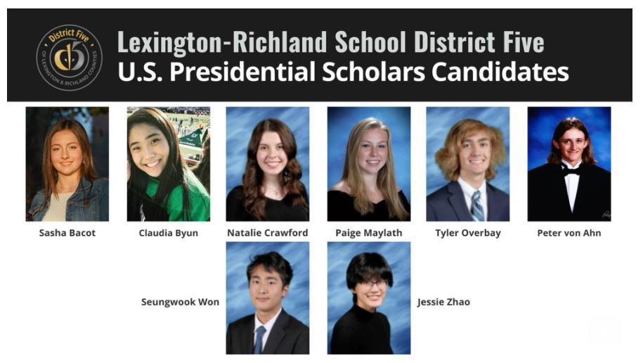 Presidential Scholar Candidates