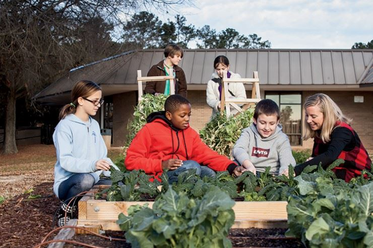 School District Five receives Farm to School Grant from USDA
