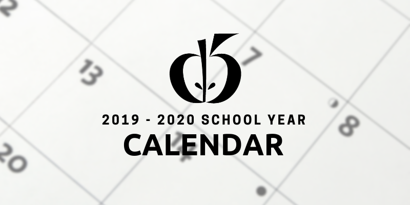 School District Five Board approves 2019-2020 school calendar