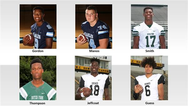 Six District Five football players named to all-star teams