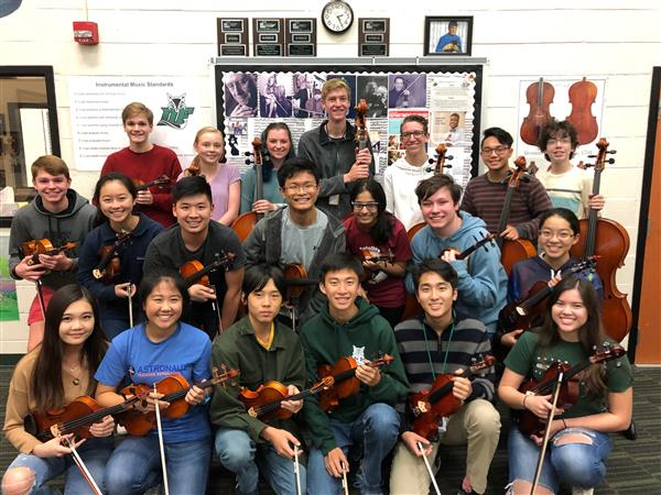 School District Five students dominate in Region Orchestra auditions