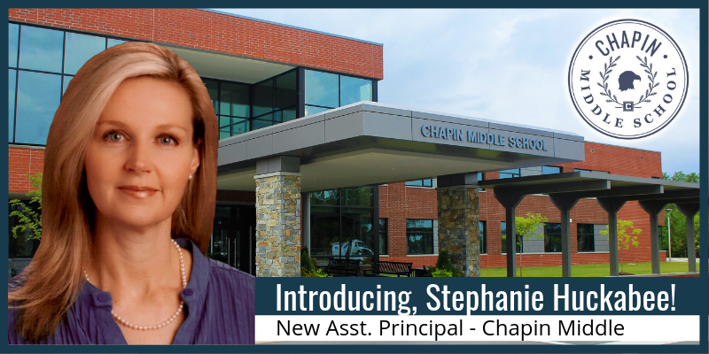 Veteran educator named new assistant principal for instruction at Chapin Middle School