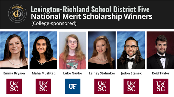 Six more School District Five students named National Merit Scholarship winners