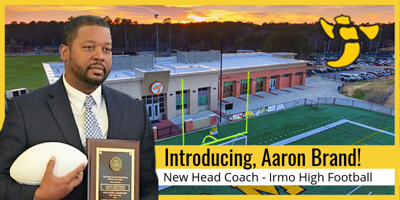 School District Five names new head football coach at Irmo High School