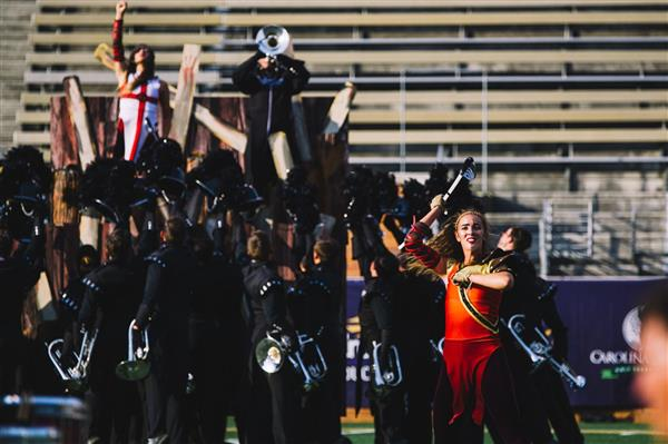 School District Five sisters take part in professional drum corps