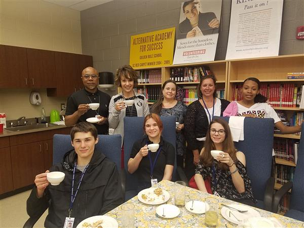 Academy For Success celebrates students' excellence with tea party