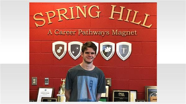 School District Five student named finalist for South Carolina High School writing contest