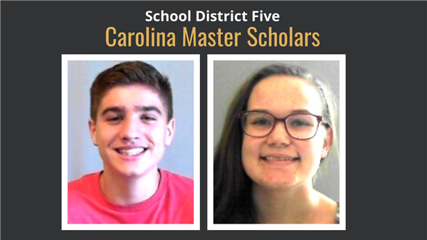 School District Five students named Carolina Master Scholars
