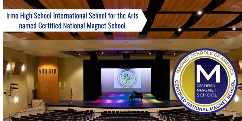 Irmo High School becomes a Nationally Certified Magnet School