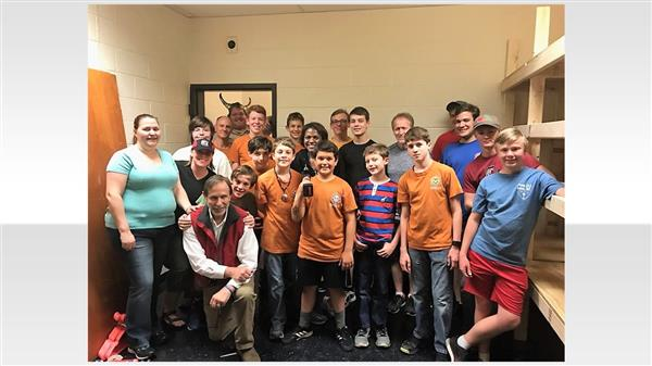 School District Five students and local Scouts give back to Irmo community