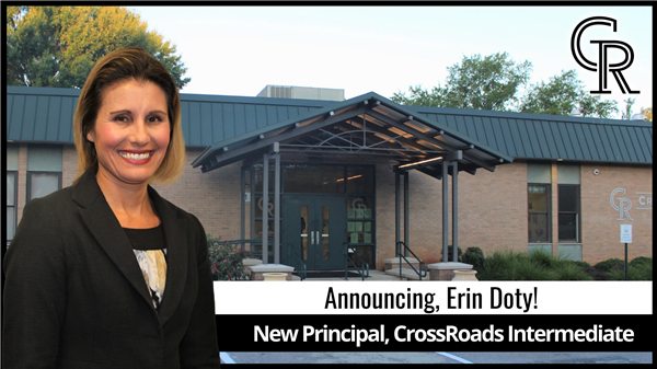 School District Five names new principal of CrossRoads Intermediate School