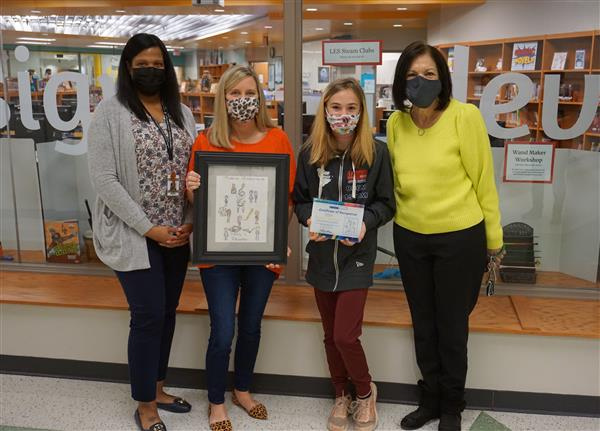 School District Five student places in national poster contest