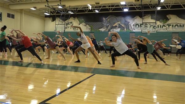 Hundreds of students participate in D5 Dance Day
