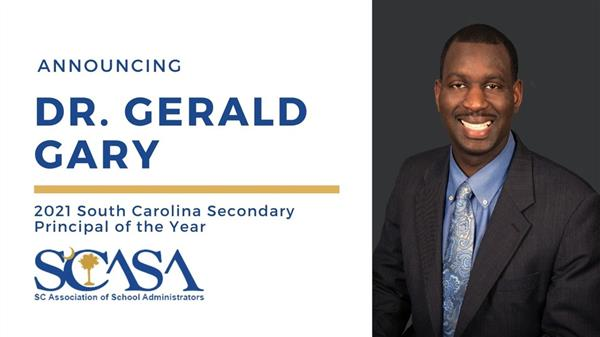 School District Five school leader named SC Secondary Principal of the Year