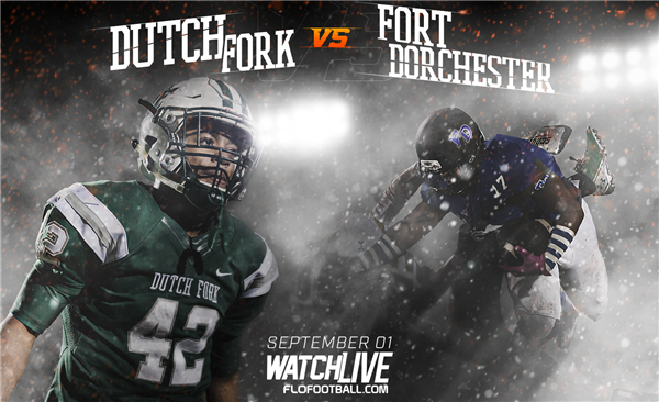 Dutch Fork football's matchup with Fort Dorchester tabbed as National Game of the Week