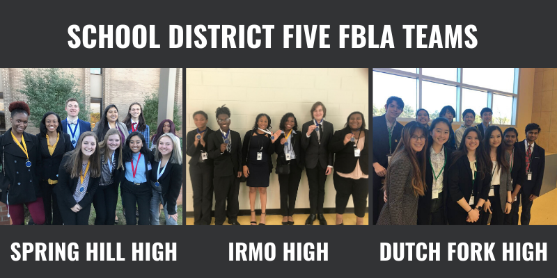 School District Five students win awards at FBLA Competition