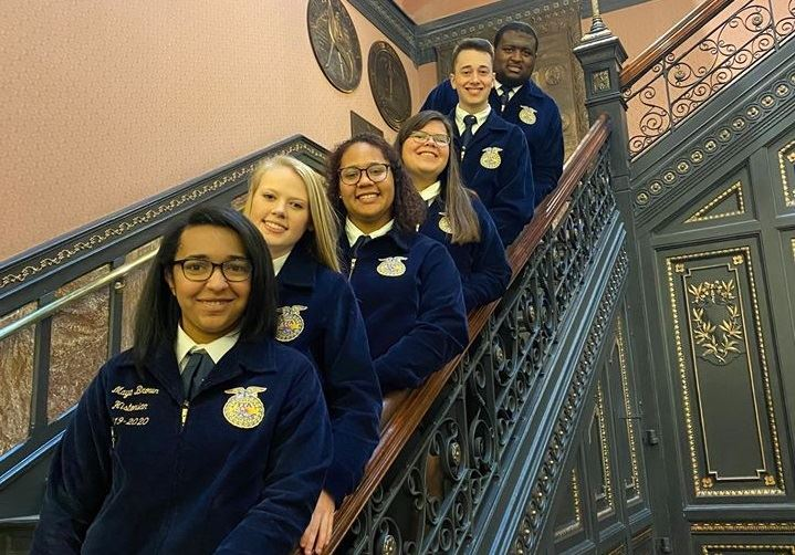 District Five FFA spreads ag awareness, celebrates national FFA Week
