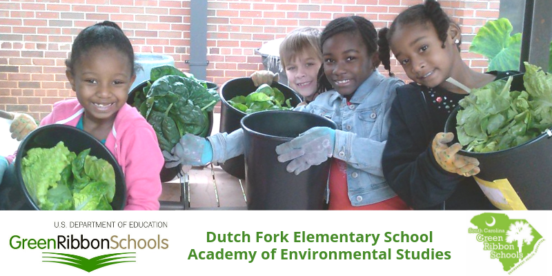 School District Five School recognized by U.S. Department of Education as S.C.'s first Green Ribbon School