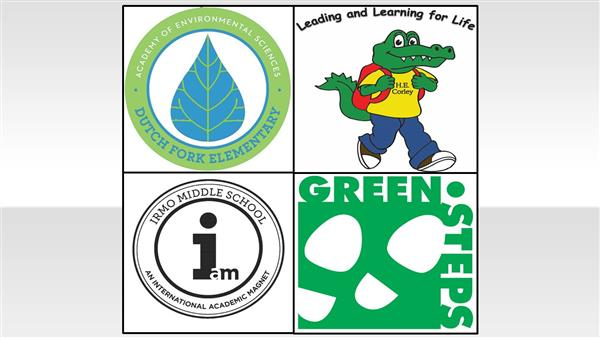 Three schools from District Five receive South Carolina Green Step School Awards