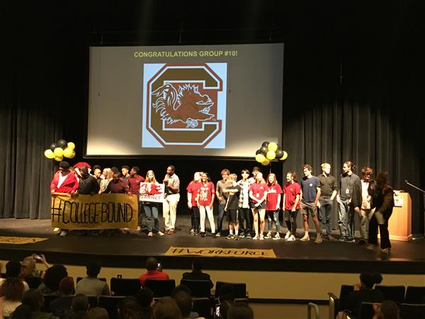 Irmo High School celebrates Class of 2019 through fourth annual Decision Day