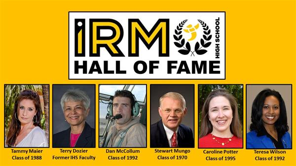 Irmo High School announces 2018 Hall of Fame inductees