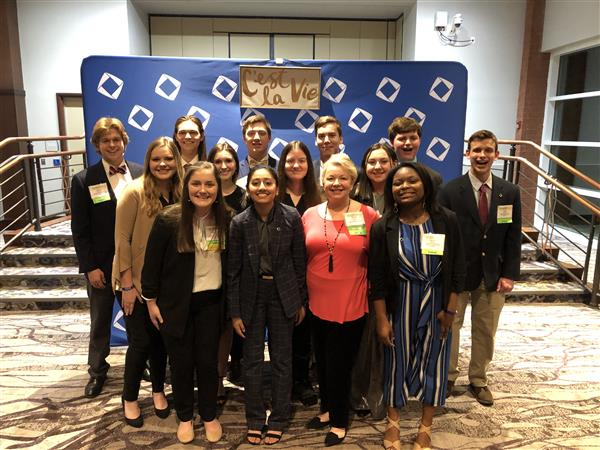 School District Five students earn top awards and titles at state DECA competition