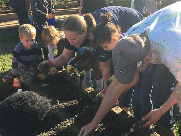 School District Five school takes part in national Green Apple Day of Service