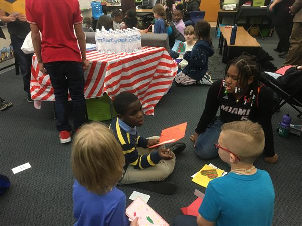 School District Five students celebrate diversity through pen pal project