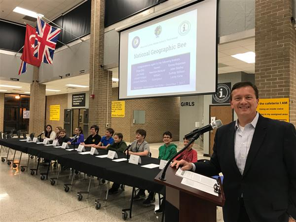 District Five student advances in National Geographic Bee competition