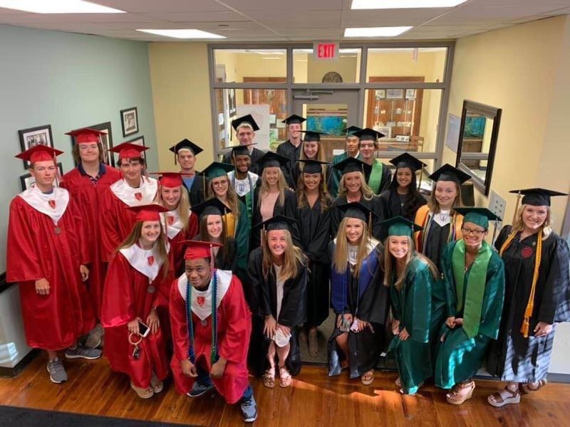 School District Five seniors take part in Senior Walk