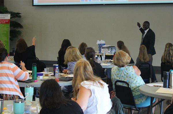 School District Five educators take part in #LeaD5 Professional Development Program