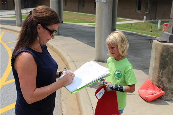 H. E. Corley Elementary's Bookmobile continues to fight the summer slide