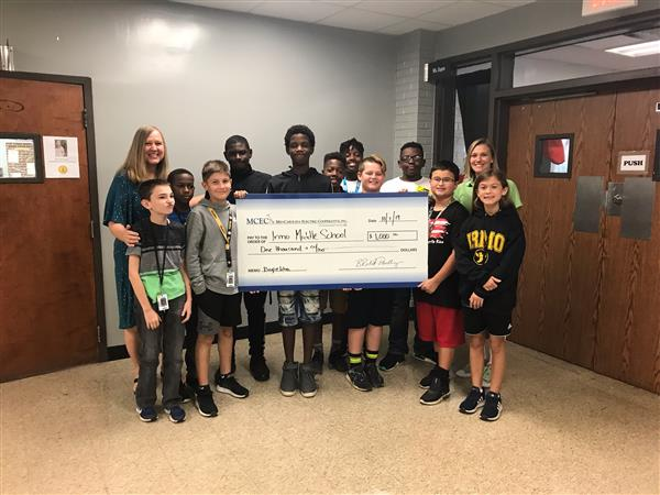 School District Five middle school receives grant from the South Carolina Department of Education