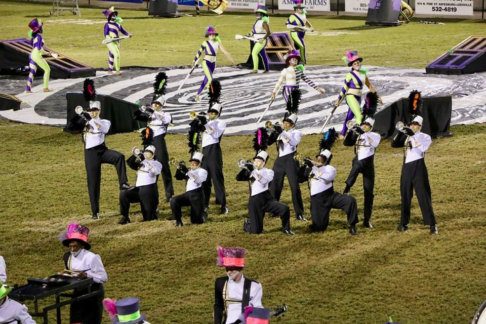 School District Five band students selected to perform with professional drum corps