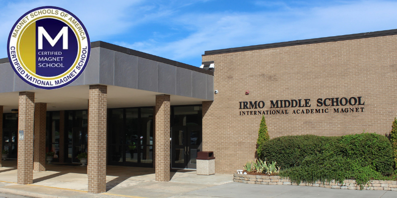 Irmo Middle School becomes a nationally certified magnet school