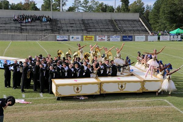 District Five high school bands shine in marching state championships