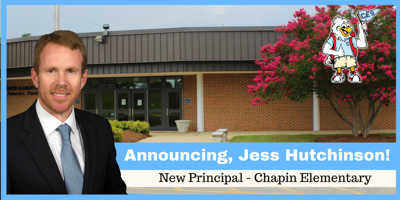 School District Five announces new principal of Chapin Elementary School