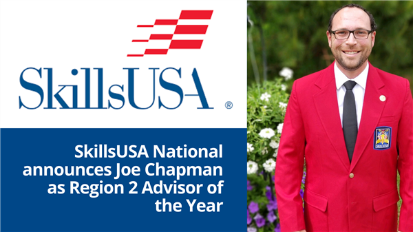 School District Five SkillsUSA advisor earns regional recognition
