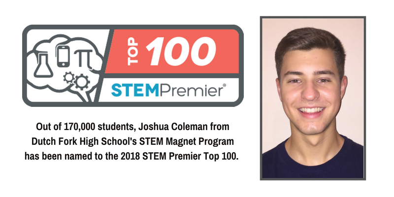 School District Five student featured in STEM Premier Top 100 rankings