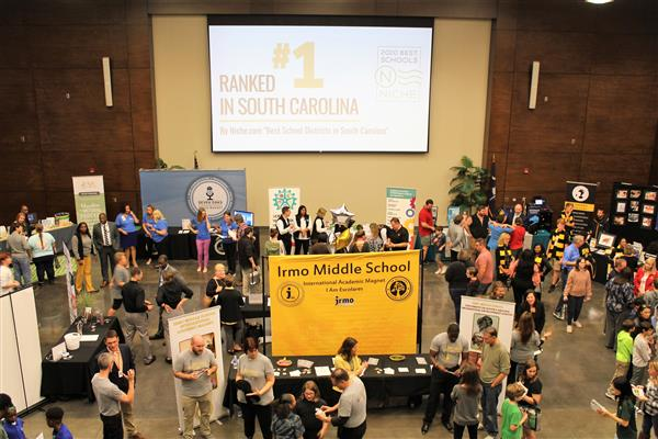 Hundreds attend School District Five Magnet Fair