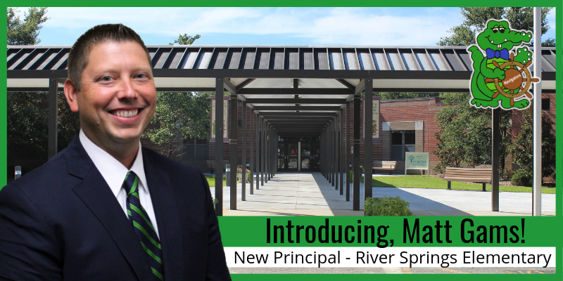 School District Five names new principal of River Springs Elementary School