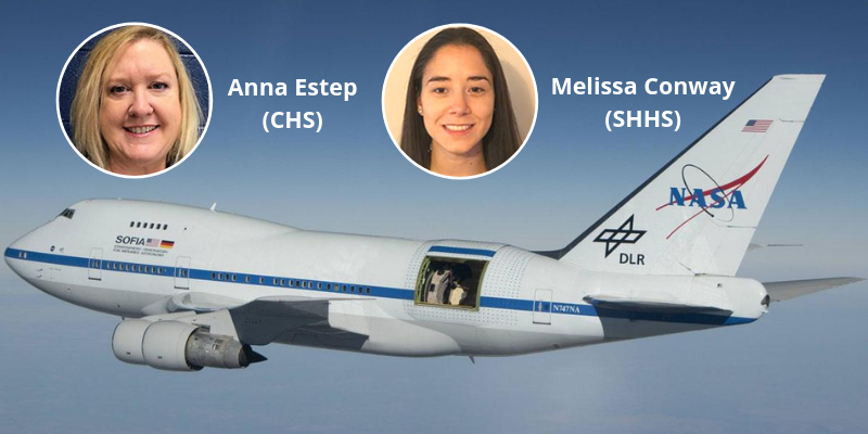 Two School District Five teachers named NASA Airborne Astronomy Ambassadors