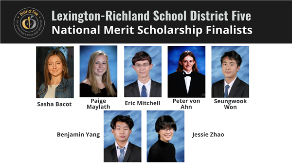 Seven School District Five students named National Merit Scholarship finalists